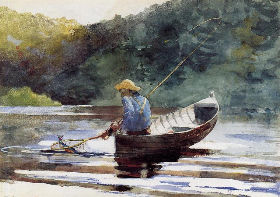 Winslow Homer, Boy fishing