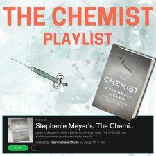 http://stepheniemeyer.com/2016/12/the-chemist-playlist-is-here/