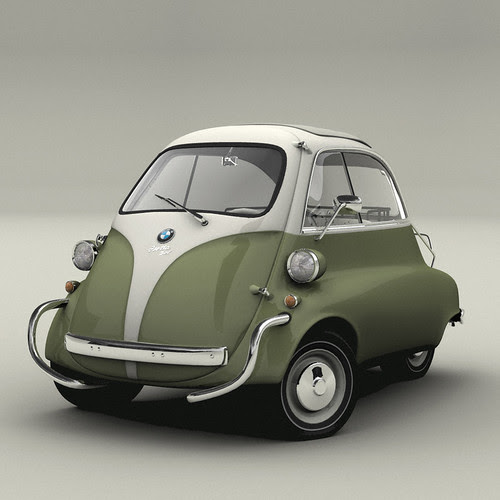 I WANT A BMW ISETTA!