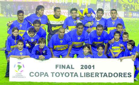Boca Juniors (2001)