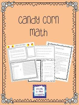Fall Candy Corn Math