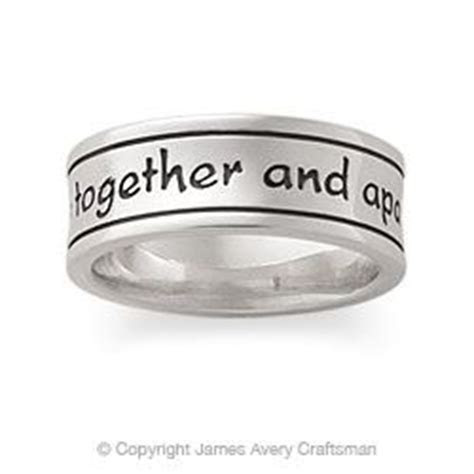 God be with us together and apart.. James Avery Mens