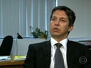 O promotor Roberto Bodini (Foto: Arquivo/Reprodução/TV Globo)