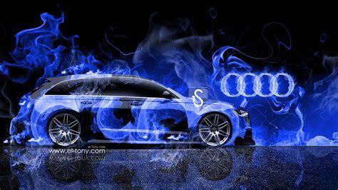 Audi A6 Avant Quattro Fire Car Mika Jumisko 2014 Wallpapers   el Tony
