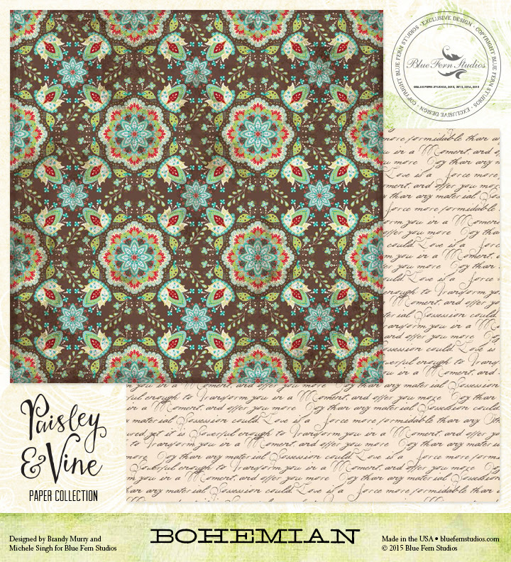 Paisley & Vine: Bohemian