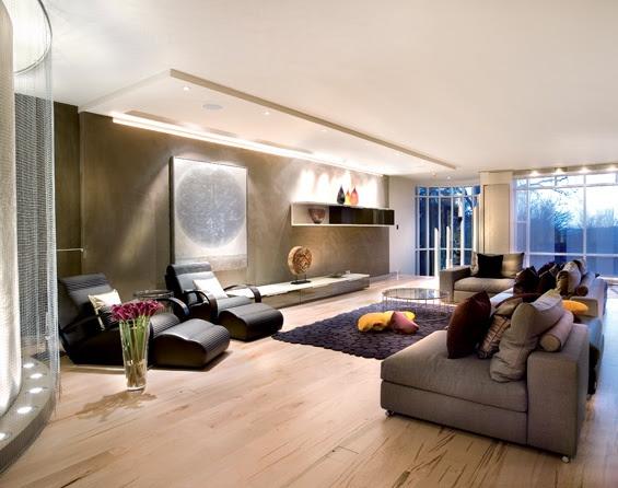 Living Room Interior design with Natural materials   Minimalisti.