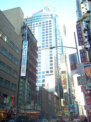 Reuters Building at Times Square, New York Cit...
