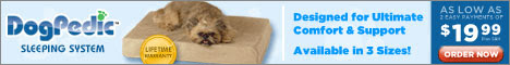 DogPedic Sleeping System - Designed for Ultimate Comfort and Support  Click here for details...