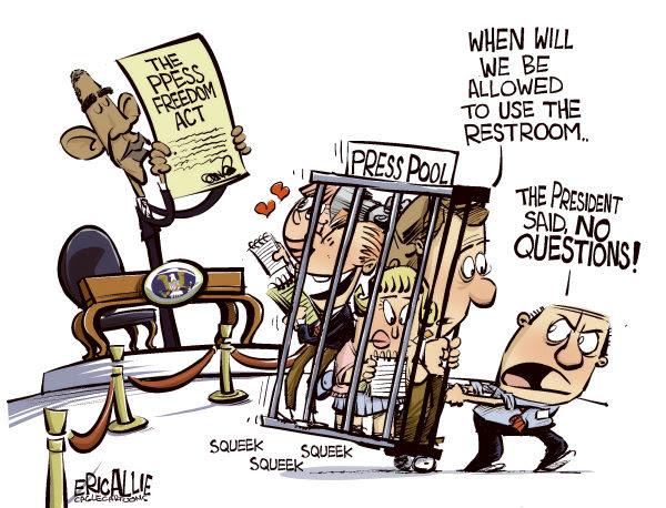 Cartoon by Eric Allie