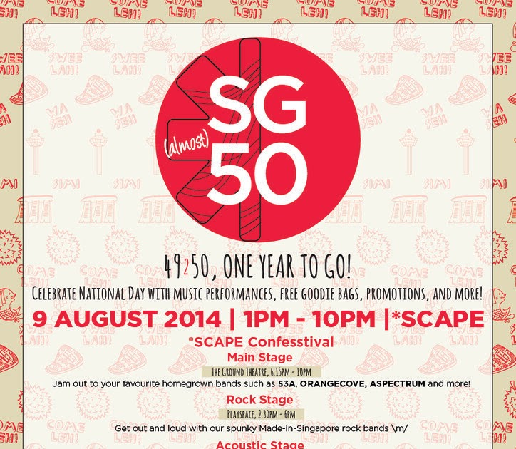 Donn's Blog: *SCAPE SG (almost) 50