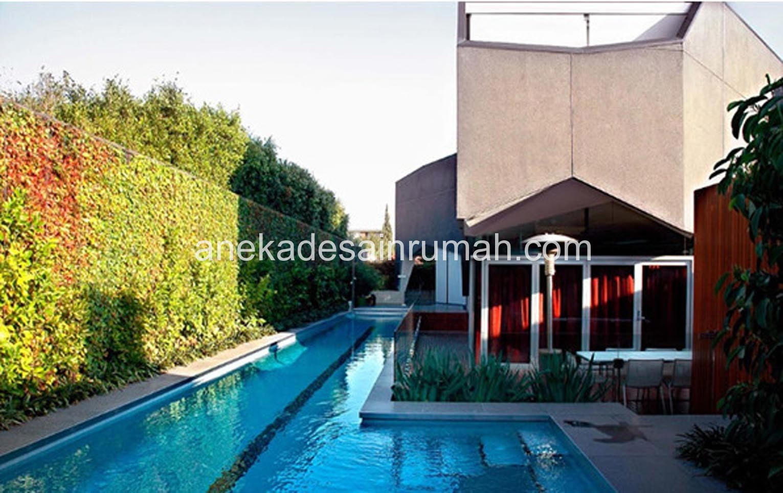 104 Denah Rumah Minimalis Dengan Kolam Renang Gambar Desain Rumah