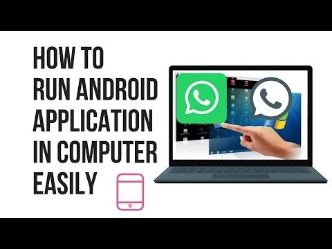 How To Run Android Application In Computer Easily