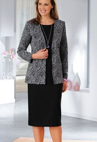fbd1f66e584 Robes mariage  Veste tailleur femme grande taille
