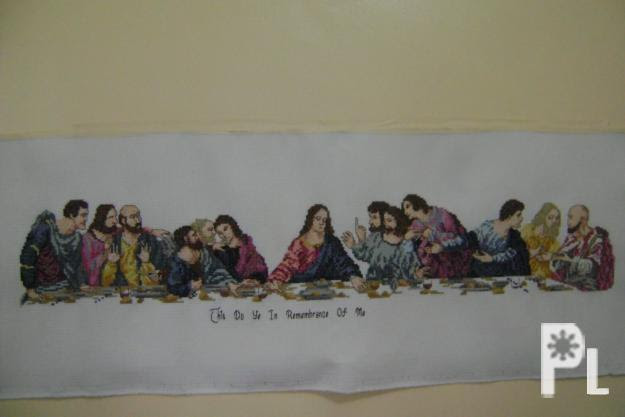 Genuine Cross Stitch Last Supper Baguio City For Sale In Baguio
