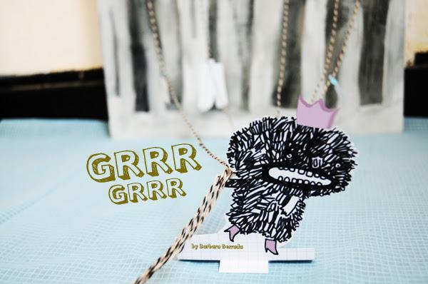 Grrr-Grrr monster