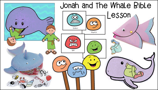 jonah and whale bible lesson