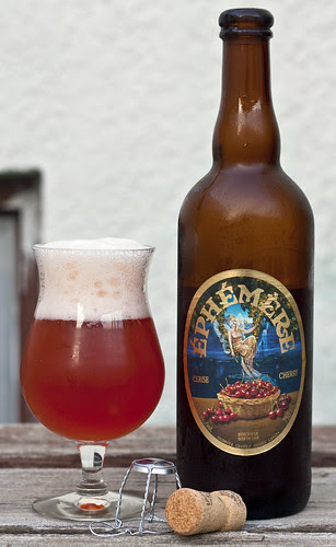 Review: Unibroue Éphémère Cerise (Cherry) by Cody La Bière