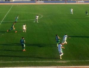 Palmeira de Goianinha x Santa Cruz-RN, no Estádio Nazarenão (Foto: Antônio Netto/Inter TV Cabugi)