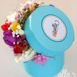 propunere-parfumata-cutie-cu-flori-decorata-manual