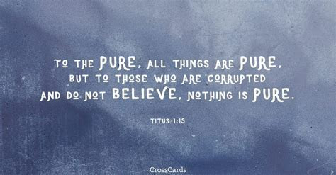 Free Titus 1:15 eCard   eMail Free Personalized Wisdom Online
