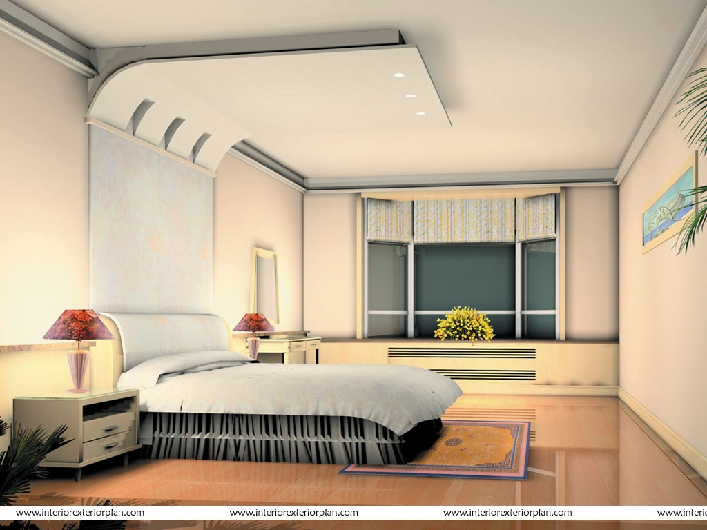 Interior Exterior Plan | A well worked out bedroom