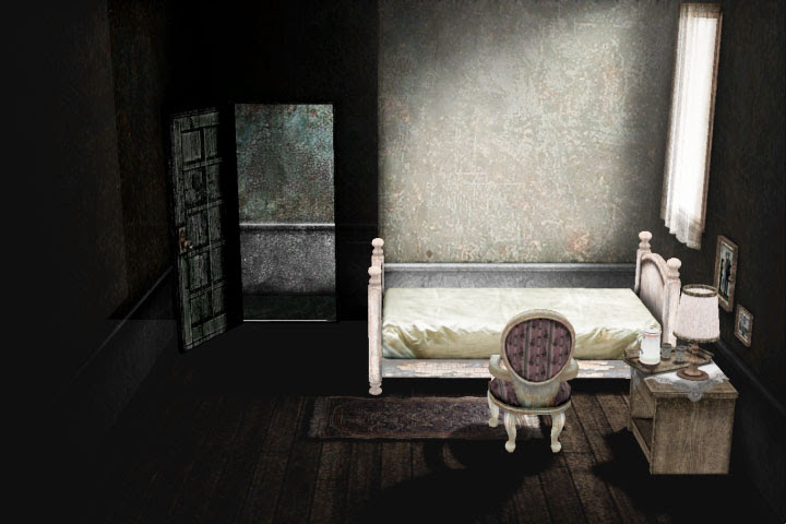 MMD Creepy Bedroom