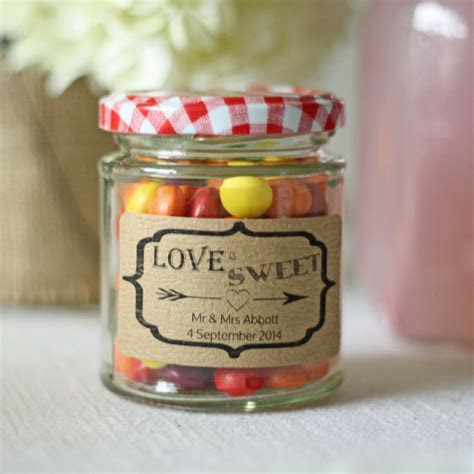 Plain Glass Jam Jar Small With Lid   Favors   Sweet