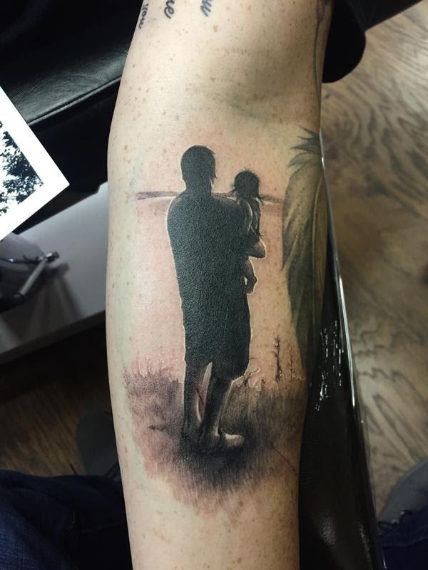 Cap1 Tattoos Tattoos Nature Tree Father Daughter Silhouette Tattoo
