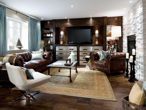 Rustic-Chic Living Room by HGTV's Candice Olson. Beautiful! http://www.hgtv.com/living-rooms/top-12-living-rooms-by-candice-olson/pictures/index.html?soc=pinterest