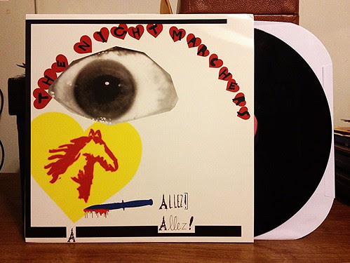 The Night Marchers - Allez Allez LP by Tim PopKid