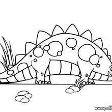 Dibujos Para Colorear Eclosión De Huevos De Dinosaurios Es