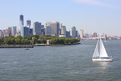 Manhattan from the QM2