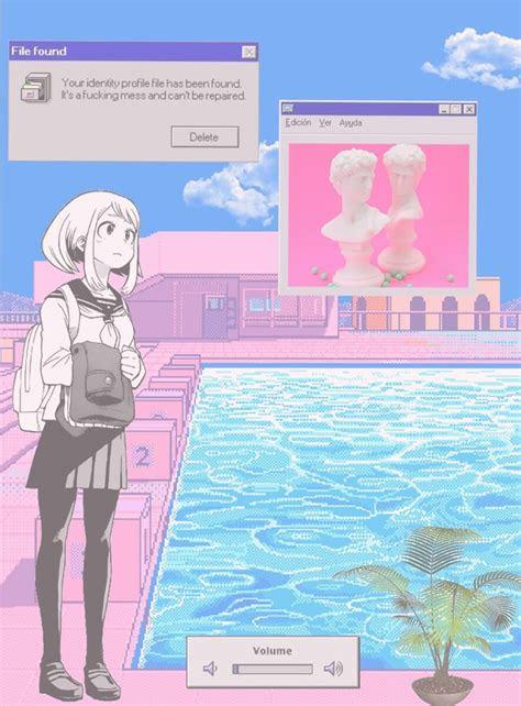 aesthetic vaporwave anime image vaporwave art vaporwave