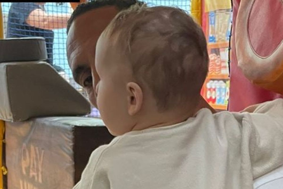 Kate Ferdinand shares rare photo of son Cree as they go to soft play with Rio...
