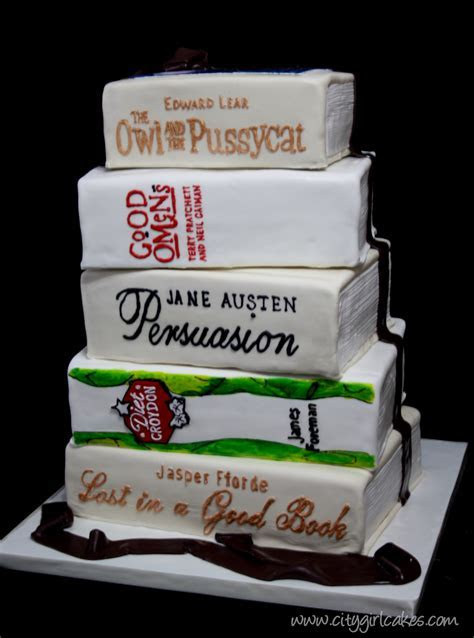 Book Lovers ? Wedding Cake   Tales from the Cake Cave