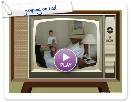 Click to play jumping on bed