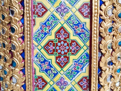 colorful antique artwork of ceramic by thaifairs
