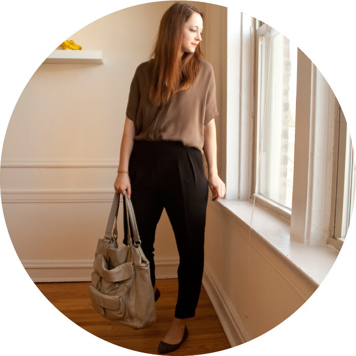 march outfit, zara pleated pants, black and brown outfit, ootd, dash dot dotty, blog