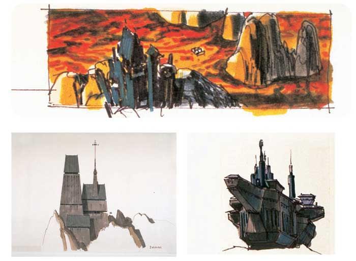 Risultati immagini per Darth Vader's Castle