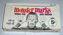 Monster Marks display box