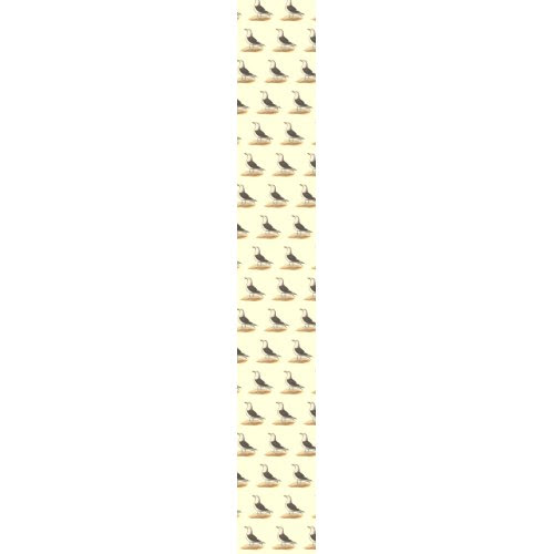 The Great Black-backed Gull (Larus marinus) tie
