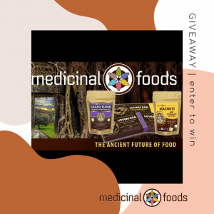 Enter to Win the Medicinal Foods Giveaway at Mommy's Playbook