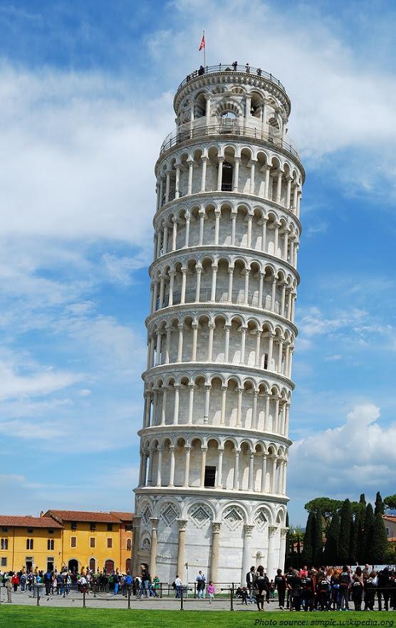 पीसा की झुकी मीनार के बारे में – Interesting things about Pisa's leaning Tower