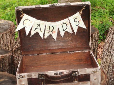 Wedding Card Box ? Shabby Chic Suitcase ? Wedding Card