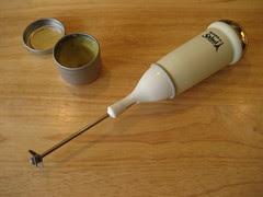 Homemade Salve and Hand Mixer Emulsifier