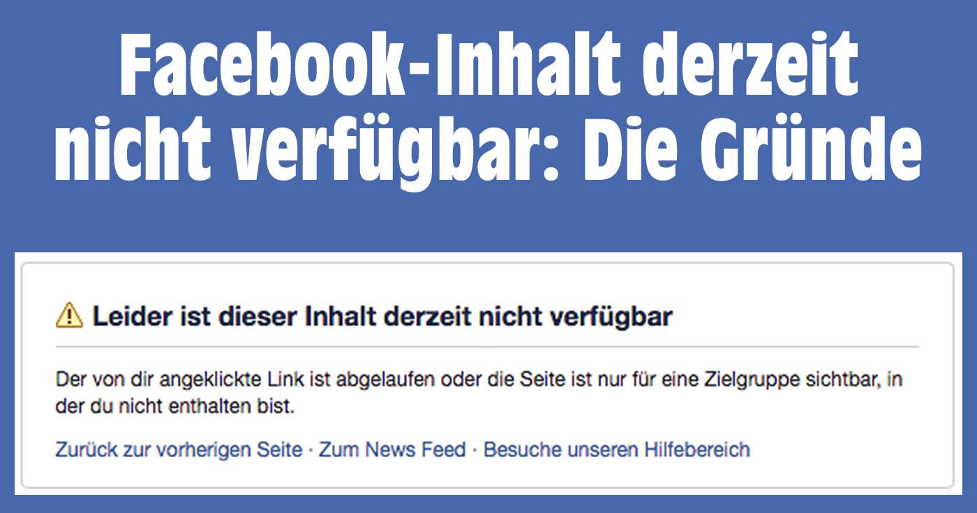 Partnerschaftsvertrag: Inhalt nicht verfügbar facebook profil
