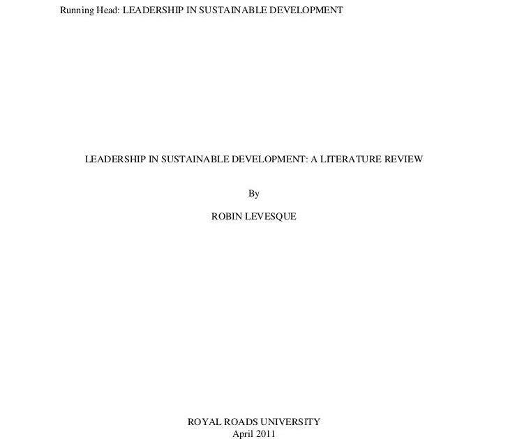 Literature review generator