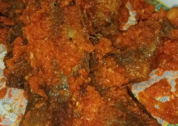 Cara Praktis Memasak Ikan mujair saos tomat Anti Gagal