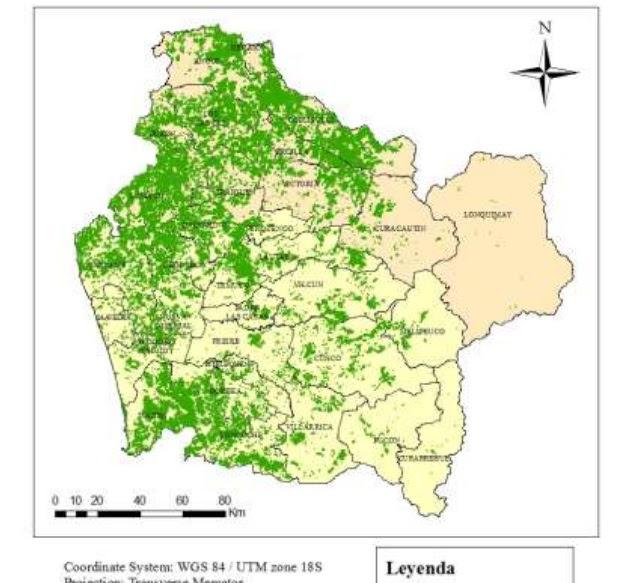 forestales - crisis hidrica - araucania
