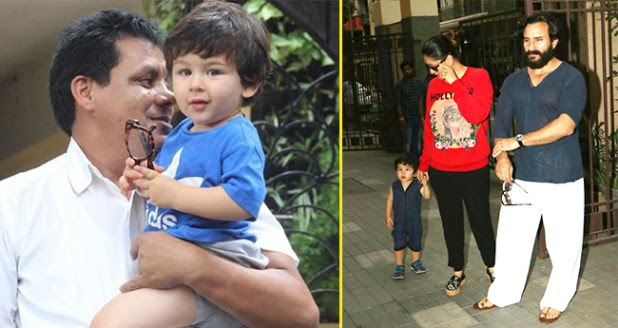 Saif And Kareena Take Taimur For A Playdate With Sister Inaaya
